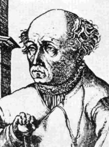 Paracelso, famoso médico y alquimista francés al servicio del rey Luis XIV