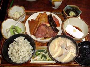 Dieta japonesa tradicional
