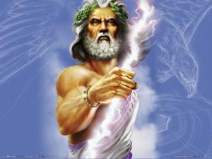 """Zeus padre de los dioses griegos y para muchos """"el único dios"""""""